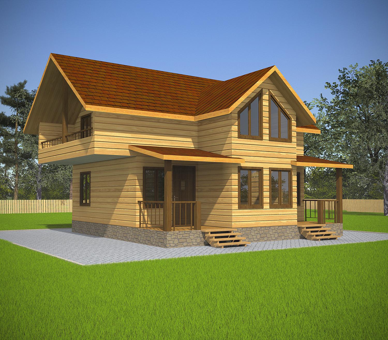dom-iz-brusa-8x8-2-etazha-s-mansardoi-fasad2
