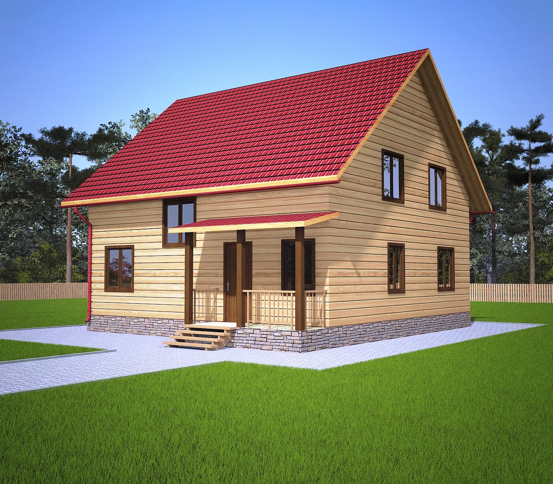 dom-iz-brusa-9x9-s-mansardoi-1.5-etazha -fasad1