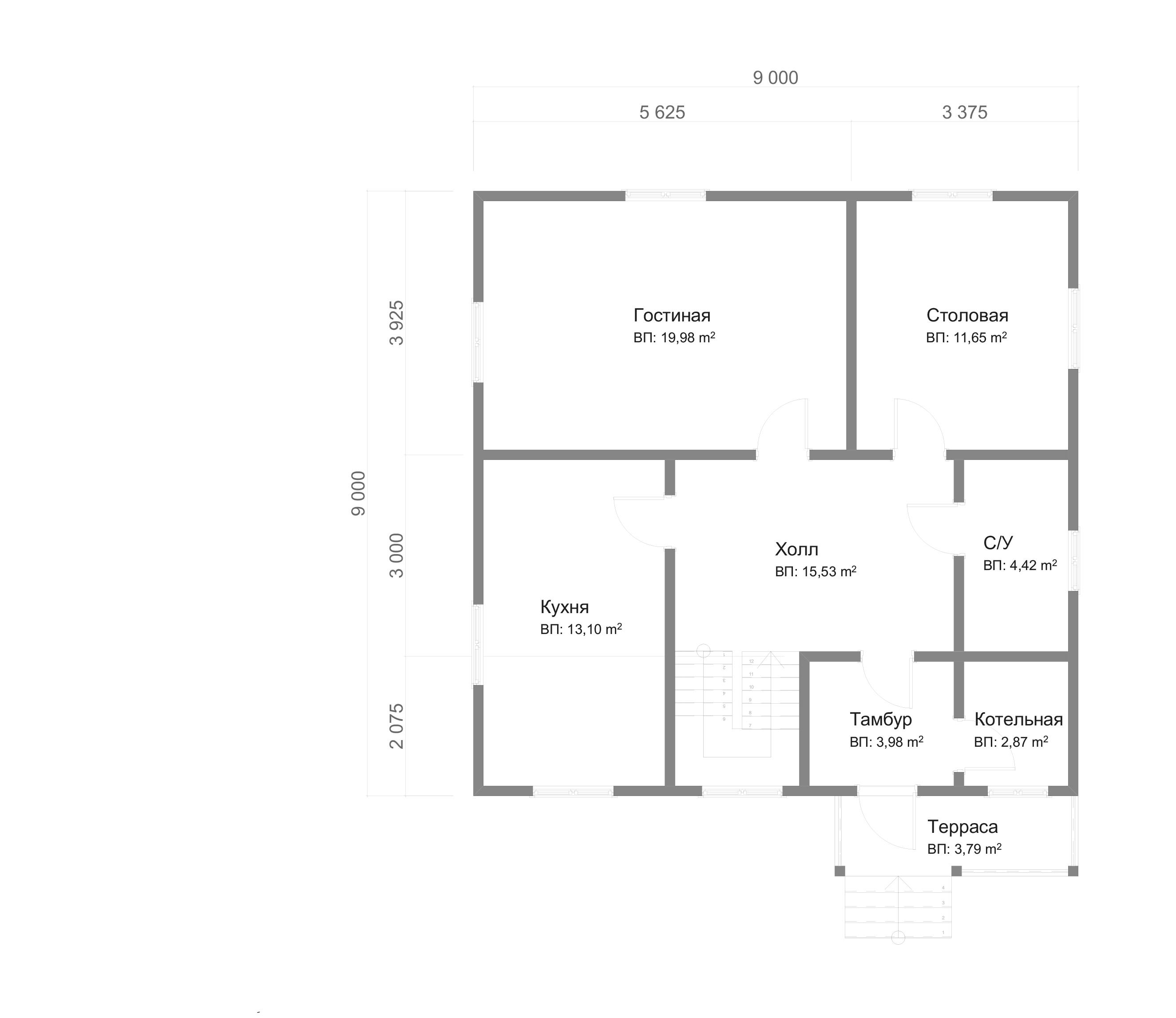 dom-iz-brusa-9x9-s-mansardoi-1.5-etazha-planirovka-1etazh