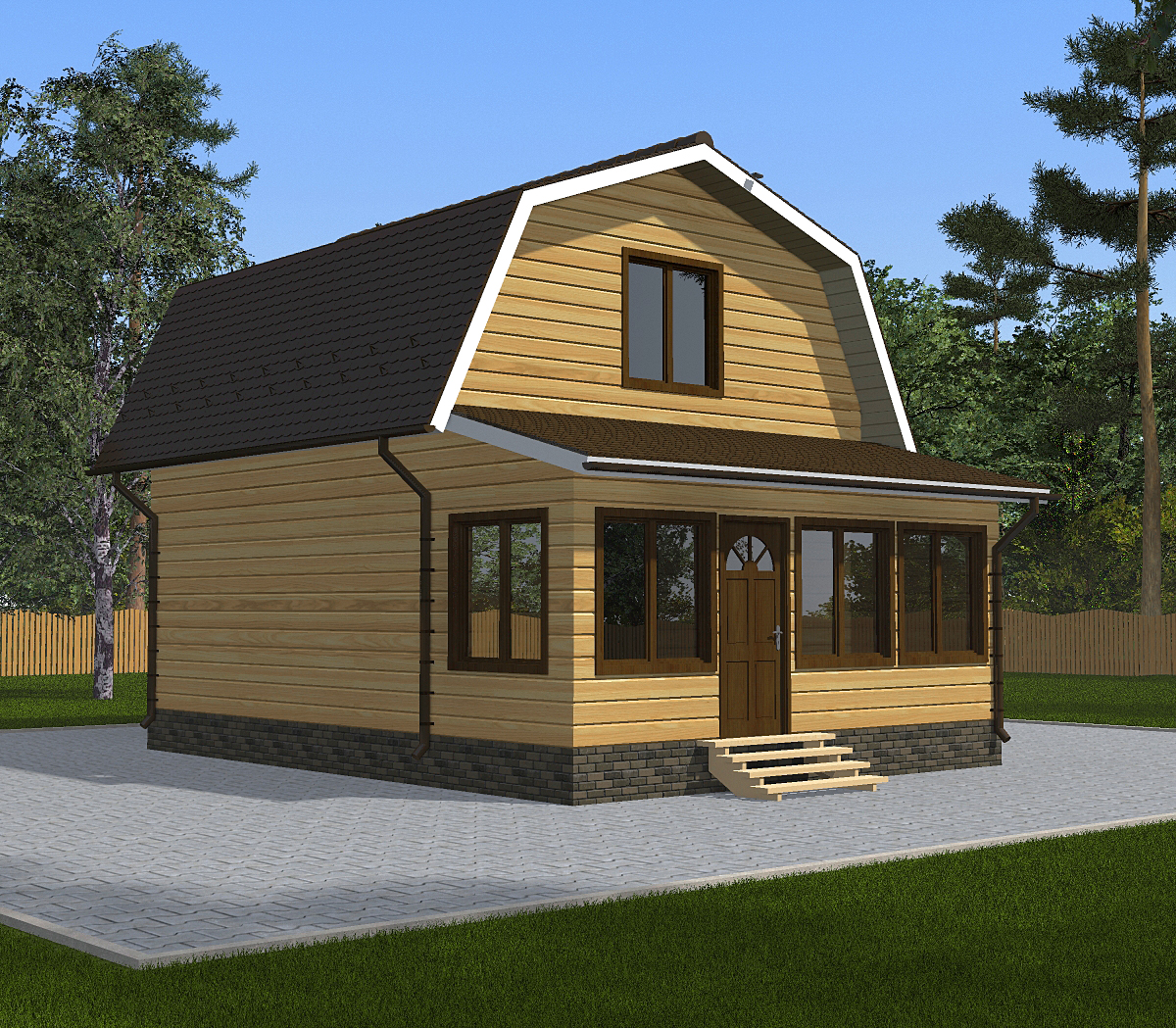 banya-iz-brusa-6x6-s-verandoi-fasad2