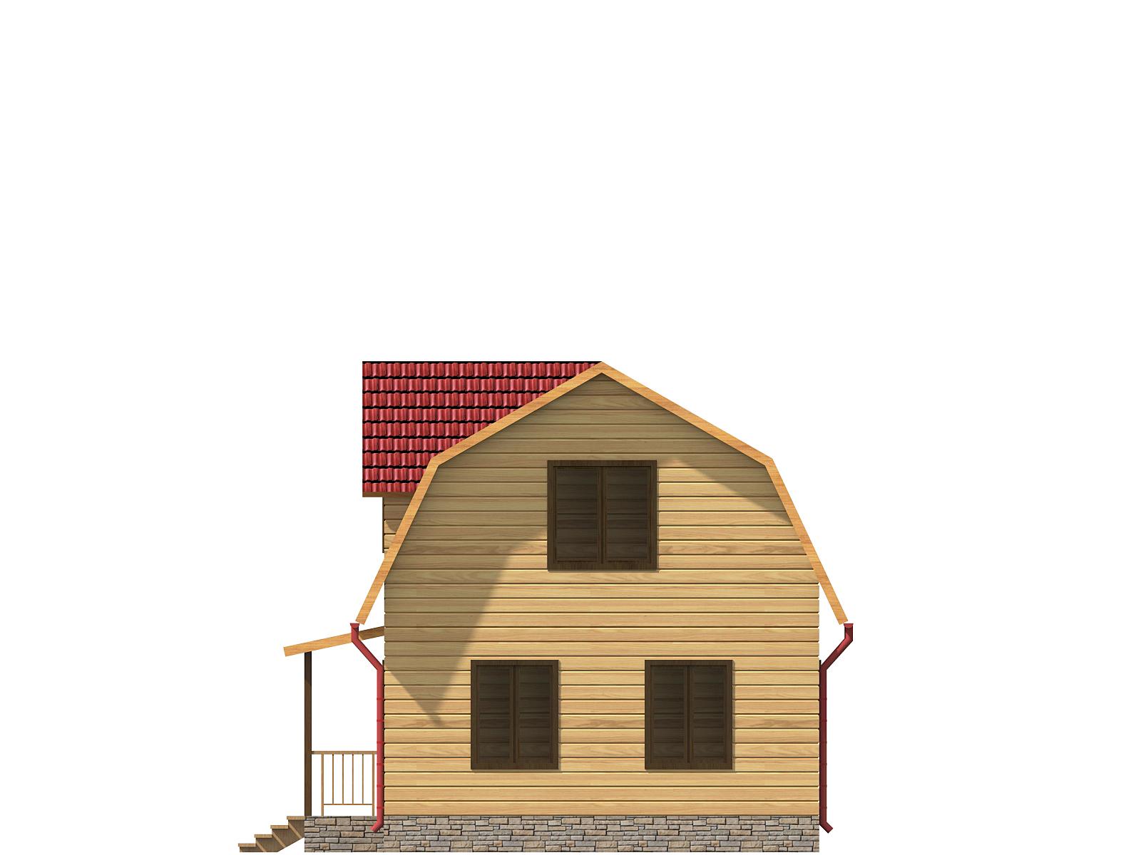 dom-iz-brusa-6x9-s-mansardoi -razrez1